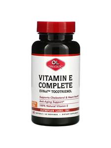 Olympian Labs Inc., Tocomin Tocotrienol Vitamin E Complete, 60 Softgels